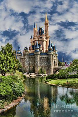 Cinderella Castle II Poster by Lee Dos Santos
