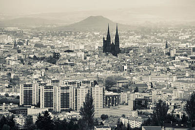 Cityscape With Cathedrale Poster by Panoramic Images