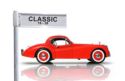 Classic Car Poster by Jorgo Photography - Wall Art Gallery