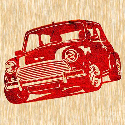 Classic Mini Cooper Poster