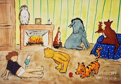 Classic Winnie The Pooh And Friends Poster