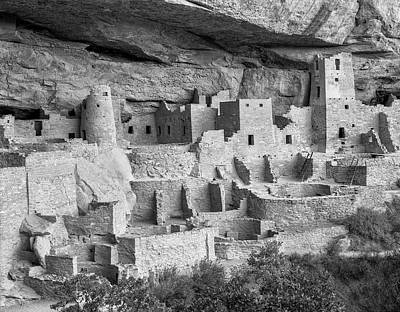 Cliff Palace, Mesa Verde, Colorado, Usa Poster by John Ford