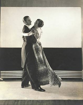 Clifton Webb And Irene Castle Dancing Poster