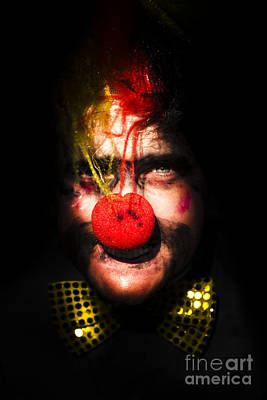 Clown Poster by Jorgo Photography - Wall Art Gallery