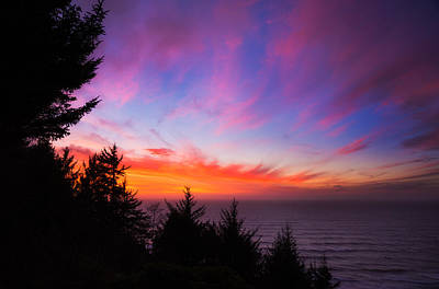 Coastal Skies Poster by Darren  White