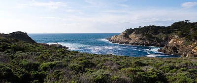Coastline, Point Lobos State Reserve Poster