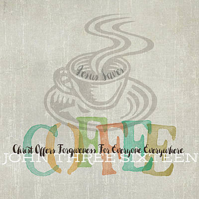 Coffee Poster by Tammy Apple