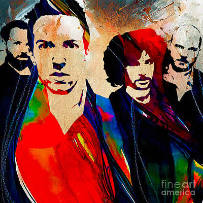 Coldplay Collection Poster by Marvin Blaine