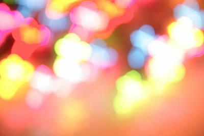 Color Blurs Poster