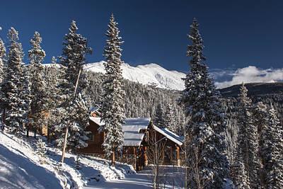 Colorado Mountain House Poster