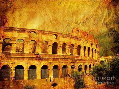 Colosseum Poster by Stefano Senise