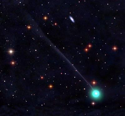 Comet Encke Poster
