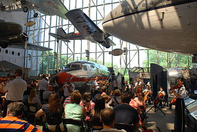 Concert Under The Planes Poster