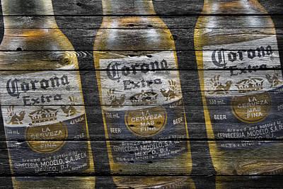 Corona Extra Poster by Joe Hamilton