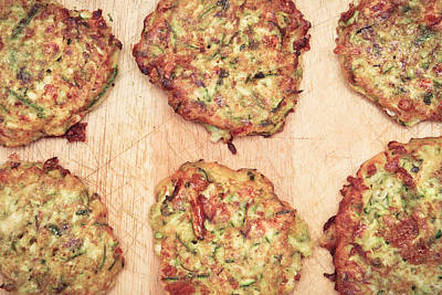 Courgette Fritters Poster