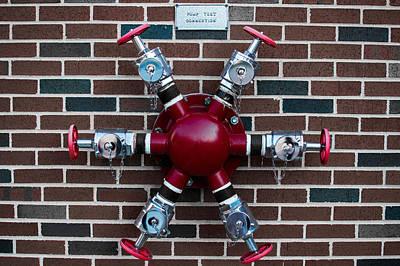 Crazy Water Pump Poster