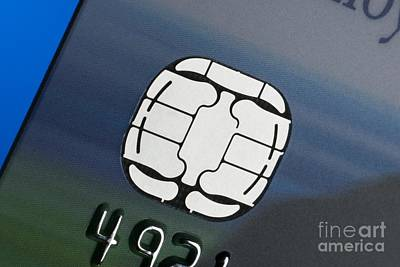 Credit Card Microchip Poster