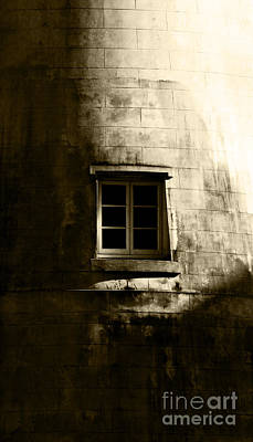 Creepy Windmill Window Poster by Jorgo Photography - Wall Art Gallery