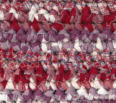 Crochet Rag Rug Poster by Kerstin Ivarsson