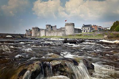 Limerick Curragour Falls Poster