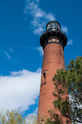 Poster featuring the photograph Currituck Beach Lighthouse by Gregg Southard