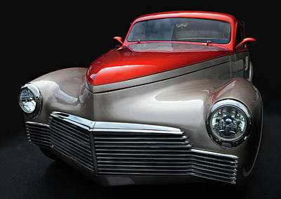 Poster featuring the photograph Custom Car Detail by Dave Mills
