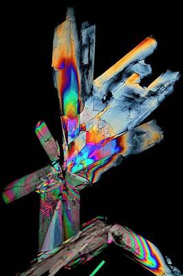 Cysteine Crystals Poster