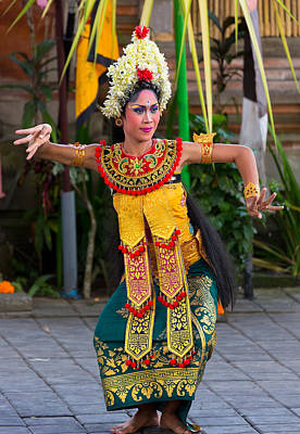 Poster featuring the photograph Dancer - Bali by Matthew Onheiber