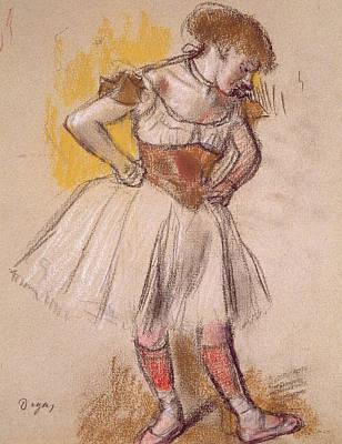 Dancer Poster by Edgar Degas