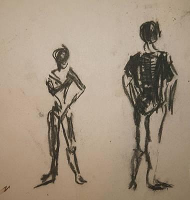 Dancing  Poster by Elena Svobodina