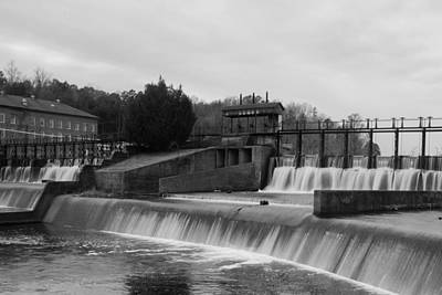 Daniel Pratt Cotton Mill Dam Prattville Alabama Poster
