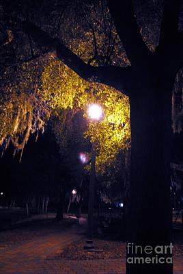 Davenport At Night Poster