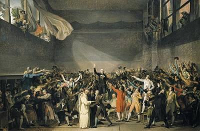 David, Jacques-louis 1748-1825. Oath Poster