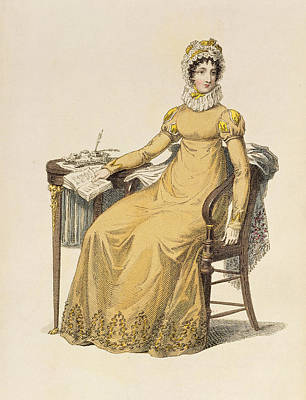 Day Dress, Fashion Plate Poster