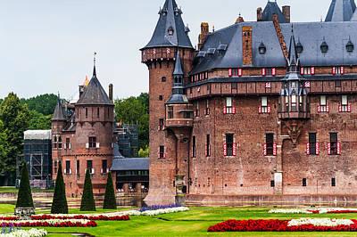De Haar Castle. Utrecht. Netherlands Poster by Jenny Rainbow