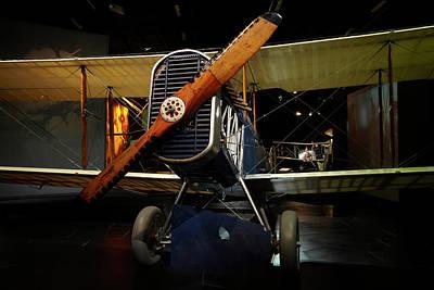 De Havilland Dh4 Biplane, Omaka Poster by David Wall
