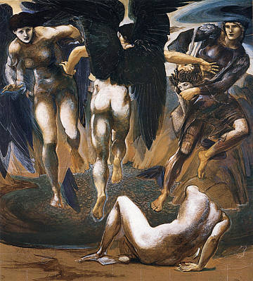 Death Of Medusa Poster by Edward Burne Jones