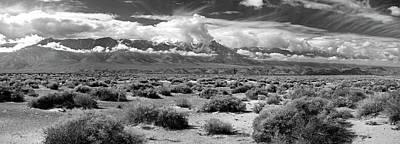 Death Valley Landscape, Panamint Range Poster