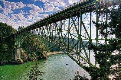 Deception Pass Poster by Spencer McDonald