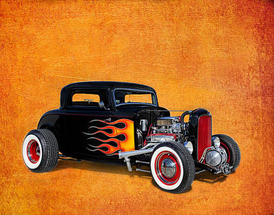 Deuce Coupe 1932 Ford Poster by Robert Jensen