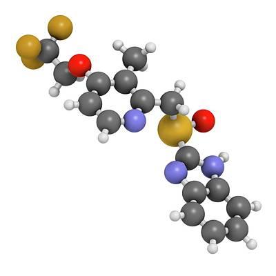 Dexlansoprazole Drug Molecule Poster