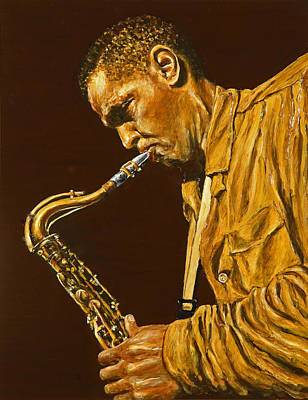 Dexter Gordon Poster by Rudy Browne