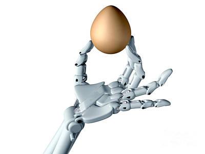 Dexterous Robot Poster by Paul Fleet