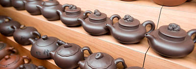 Display Of Chinese Teapots, Chinatown Poster