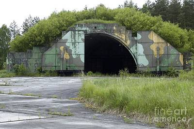 Disused Hardened Aircraft Shelter Poster by RIA Novosti