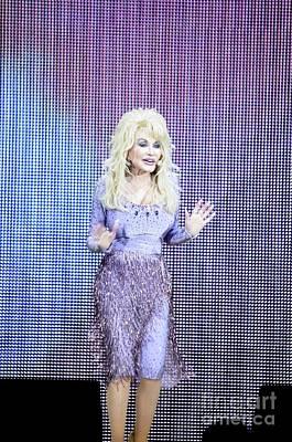 Dolly Parton Poster by Jenny Potter