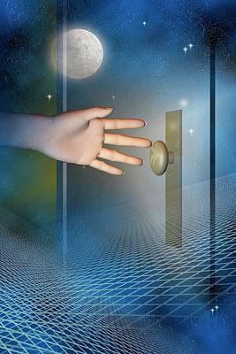 Doorway Poster by Carol & Mike Werner