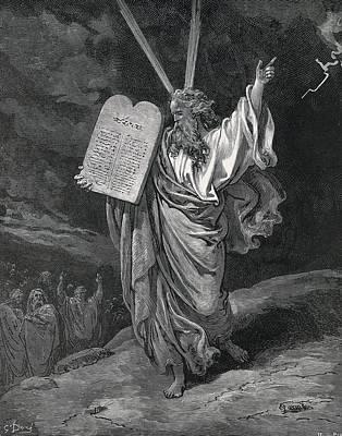 Dore, Paul Gustave 1832-1883. La Sainte Poster