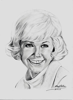 Doris Day Poster by Barb Baker