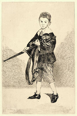 Édouard Manet French, 1832 - 1883. Child With A Sword Poster
